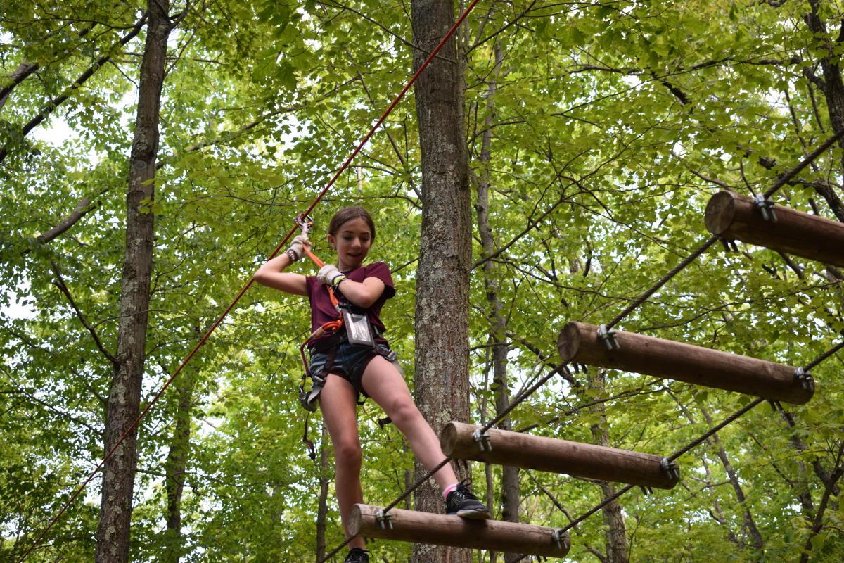 Explore the Pocono Mountains on a Ropes Course