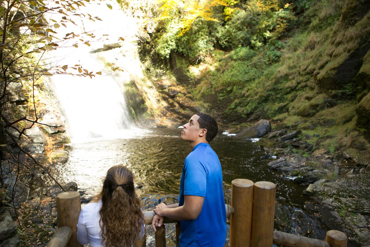 Waterfall Tour in the Pocono Mountains