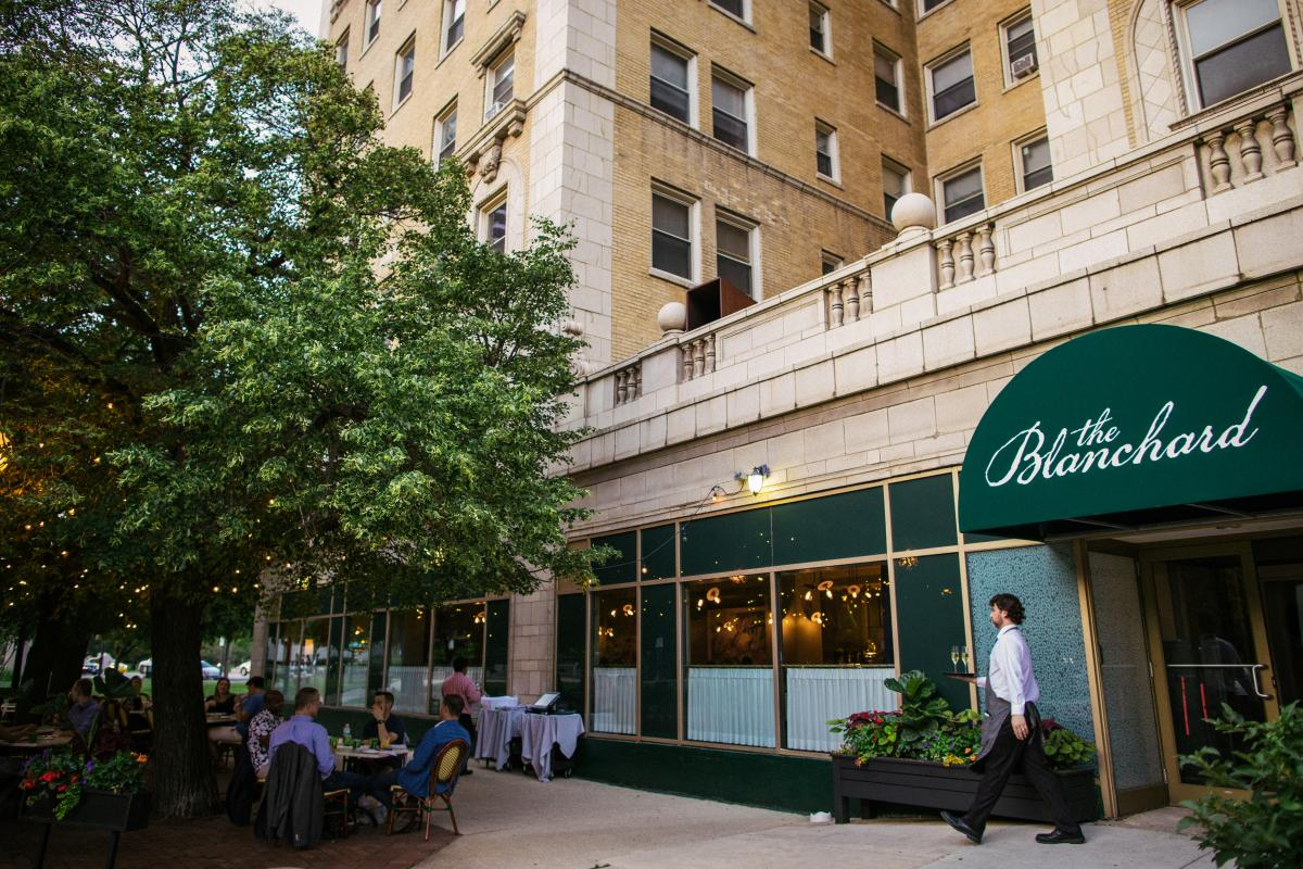 The Blanchard Chicago restaurant exterior