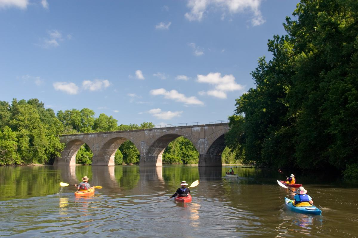Schuylkill River Sojourn near Limerick Township, courtesy of Cody Goddard