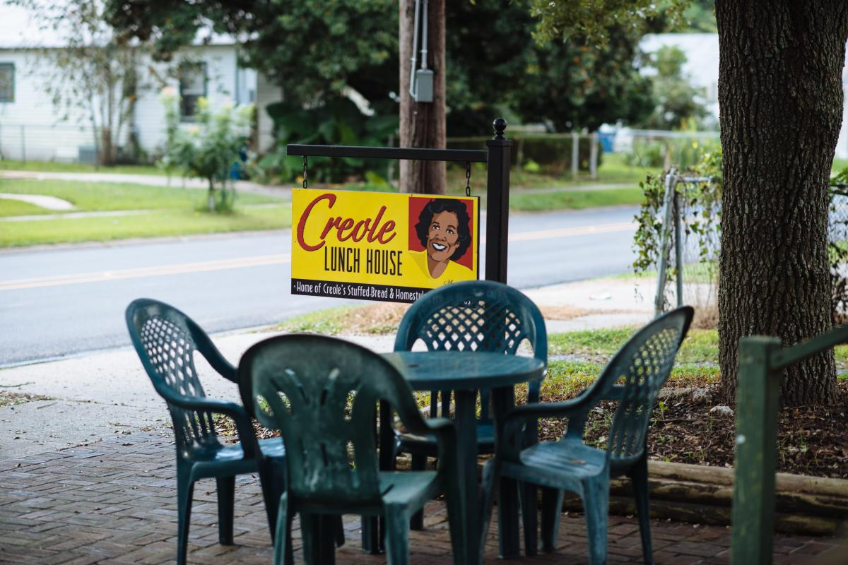 Creole Lunch House Outdoor Seating
