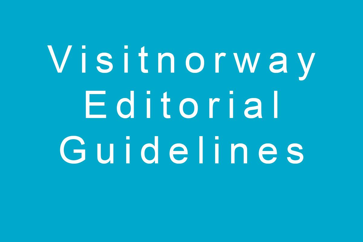 VN Editorial guidelines box
