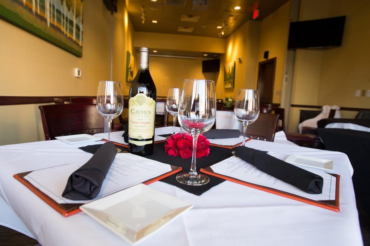 Wine Dinner Terrace