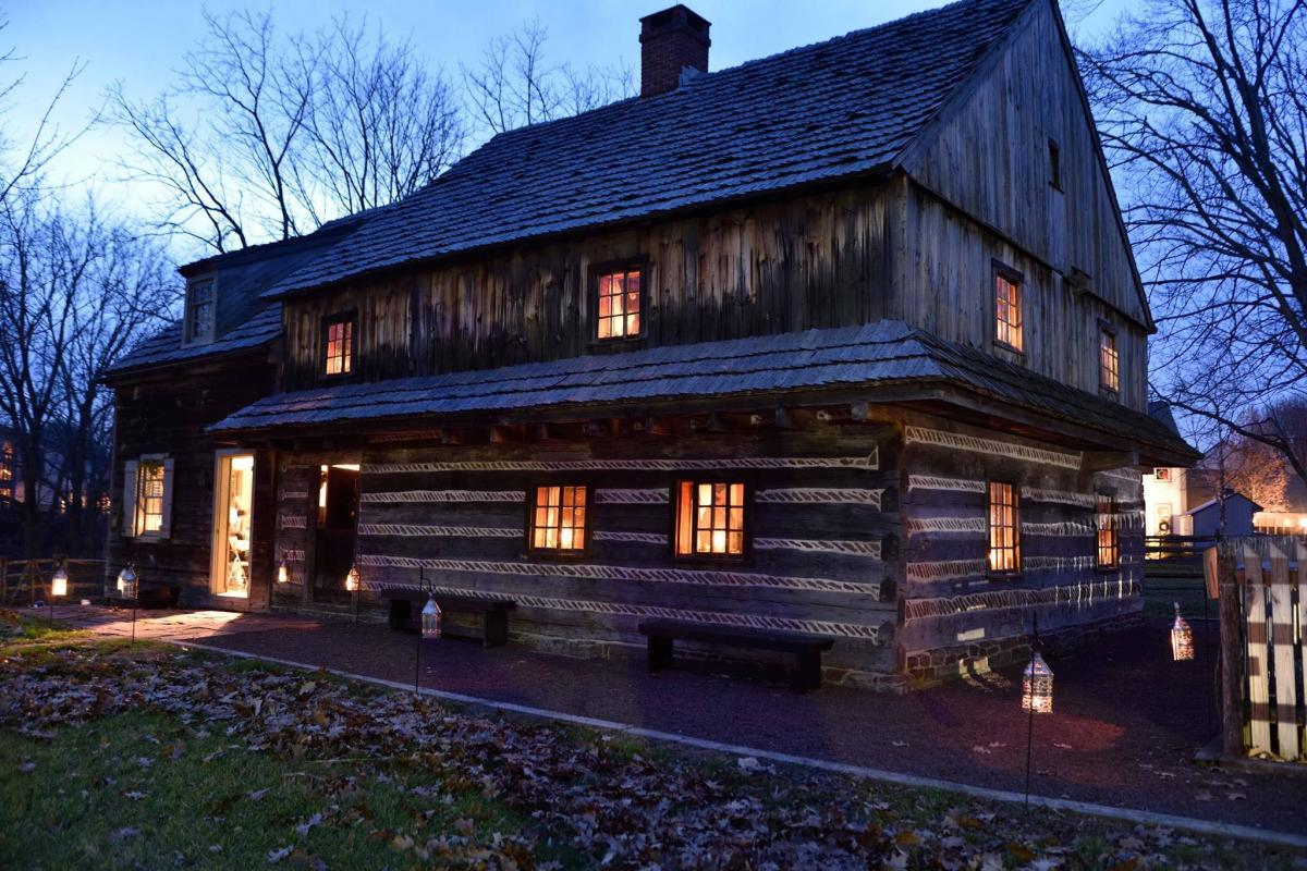 Morgan Log House Candlelight