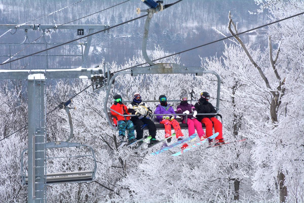 Seven Springs chairlift