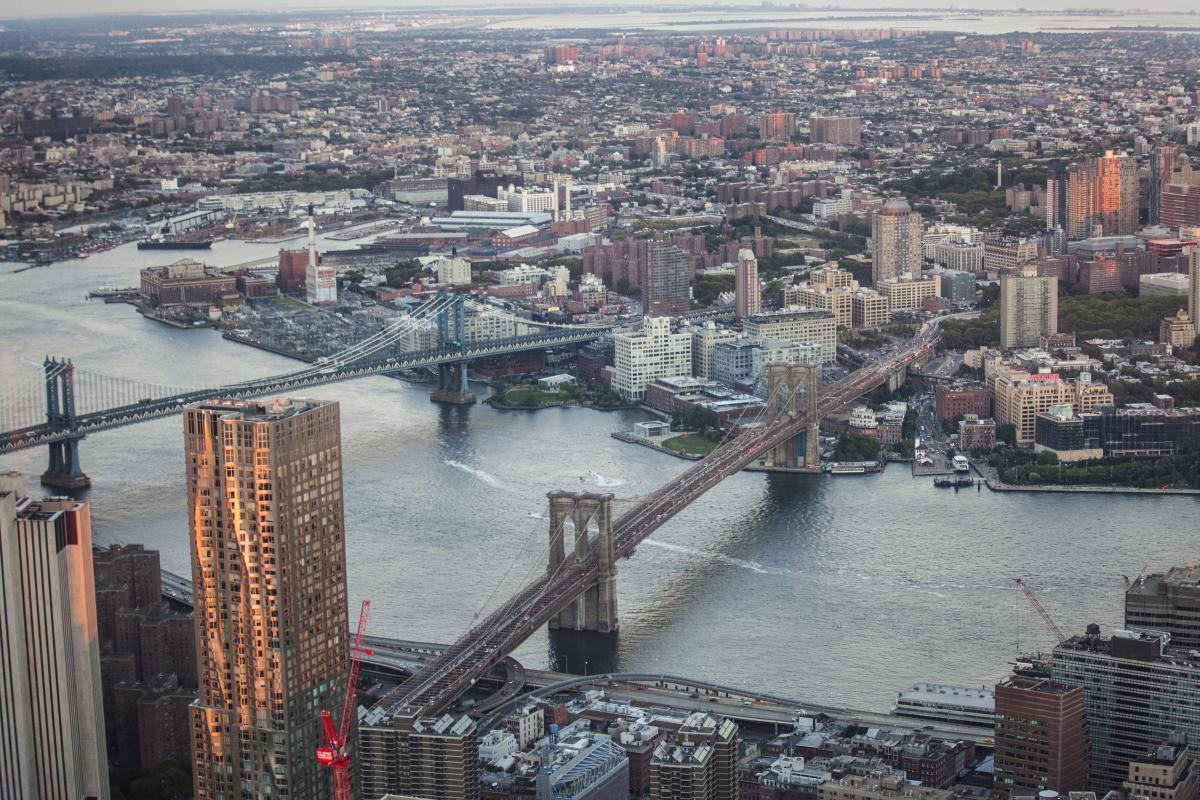 One World Observatory. Photo by Tagger Yancey IV.