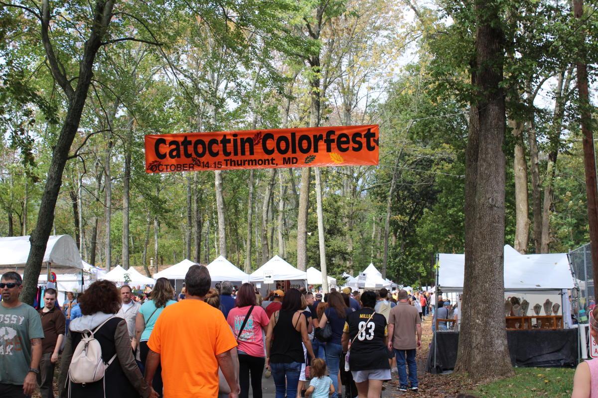 Catoctin Colorfest Banner