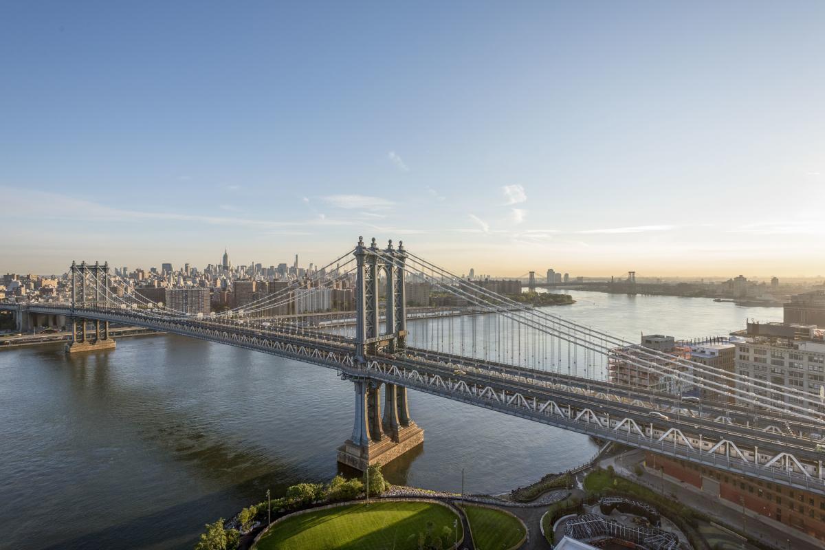 Manhattan Bridge View