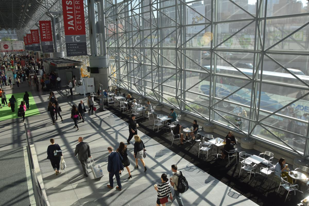 Javits Center, interior