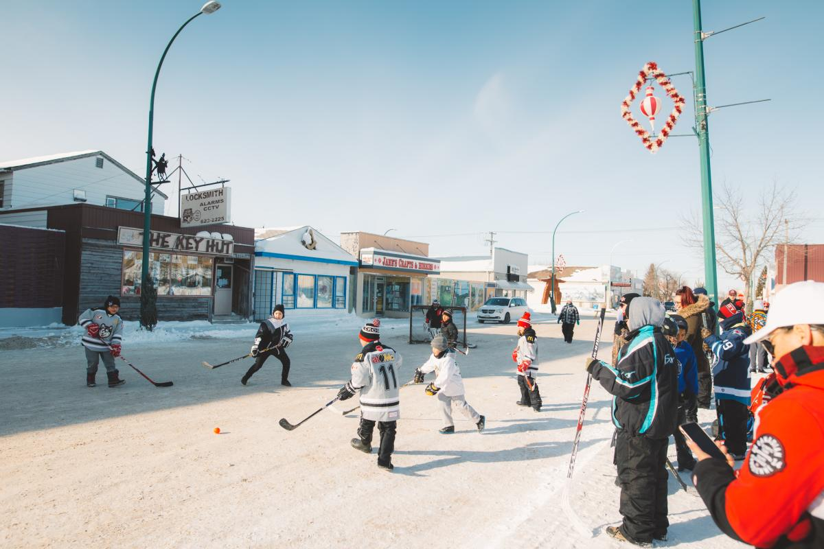 The Pas_street hockey