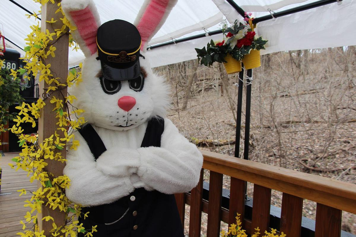 Colebrookdale Railroad Easter Bunny