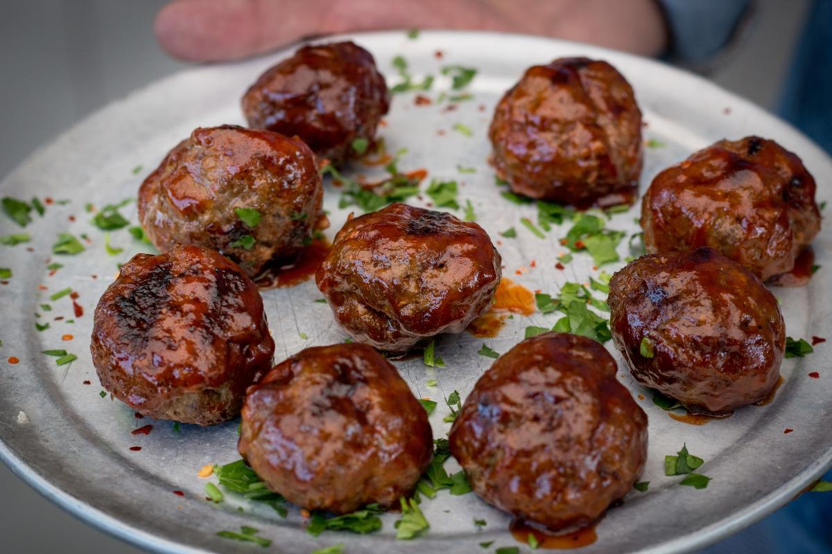 Stonefire Grill BBQ Meatballs
