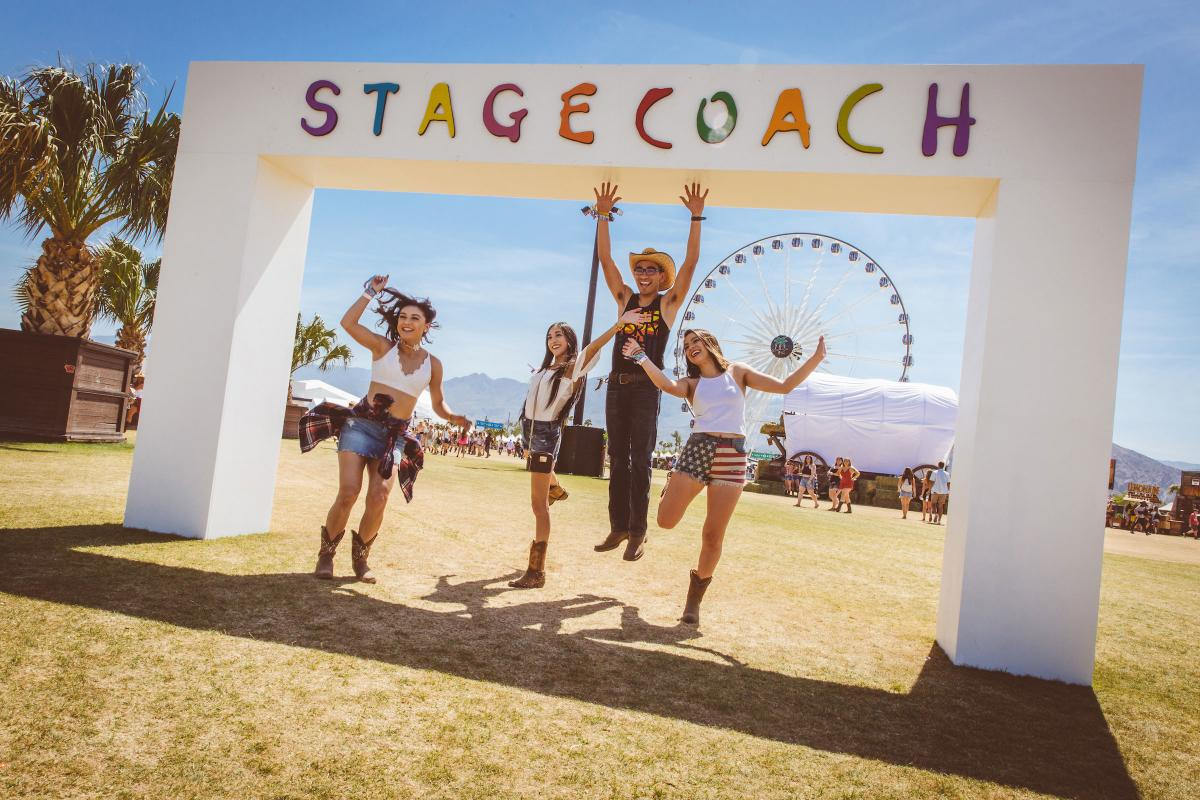 Guests at Stagecoach