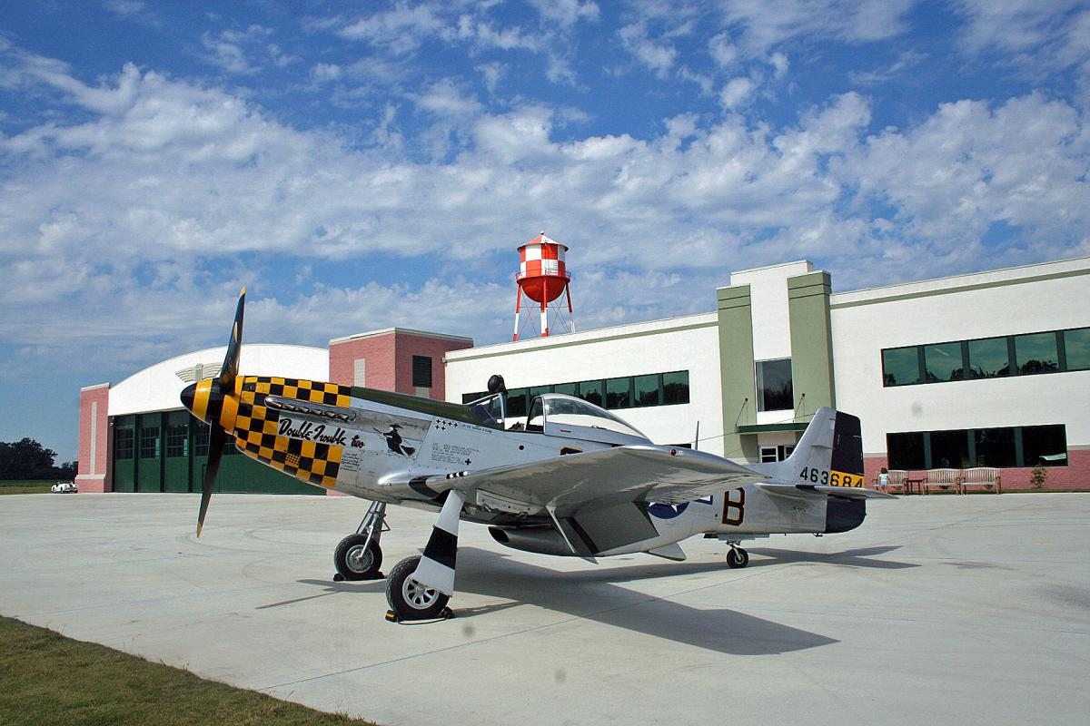 Virginia Military Aviation Museum p-51 Mustang