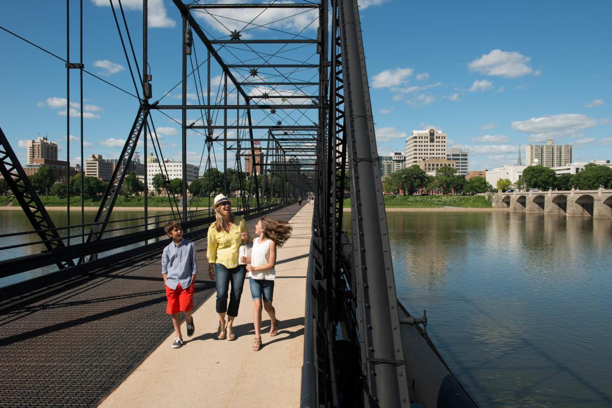 Harrisburg Walking Bridge