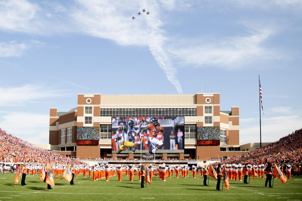 OSU Video Board Football