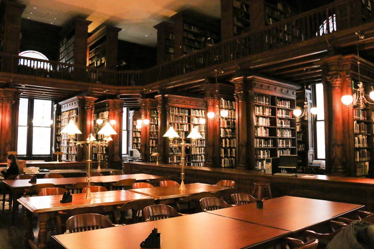 Brooklyn Historical Society, interior