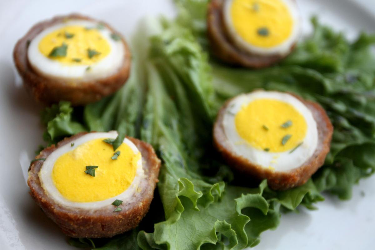 Scotch Eggs at Whistle Binkies in Rochester MN