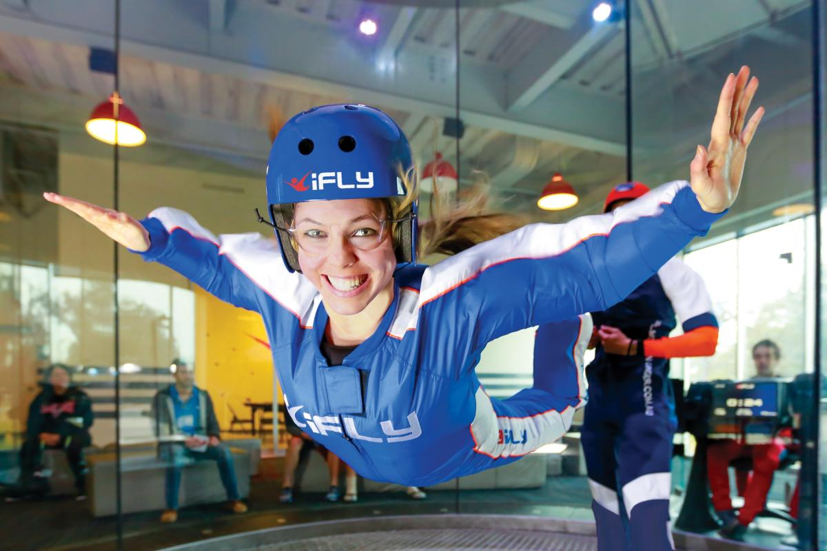 Copy of iFly Tampa Woman