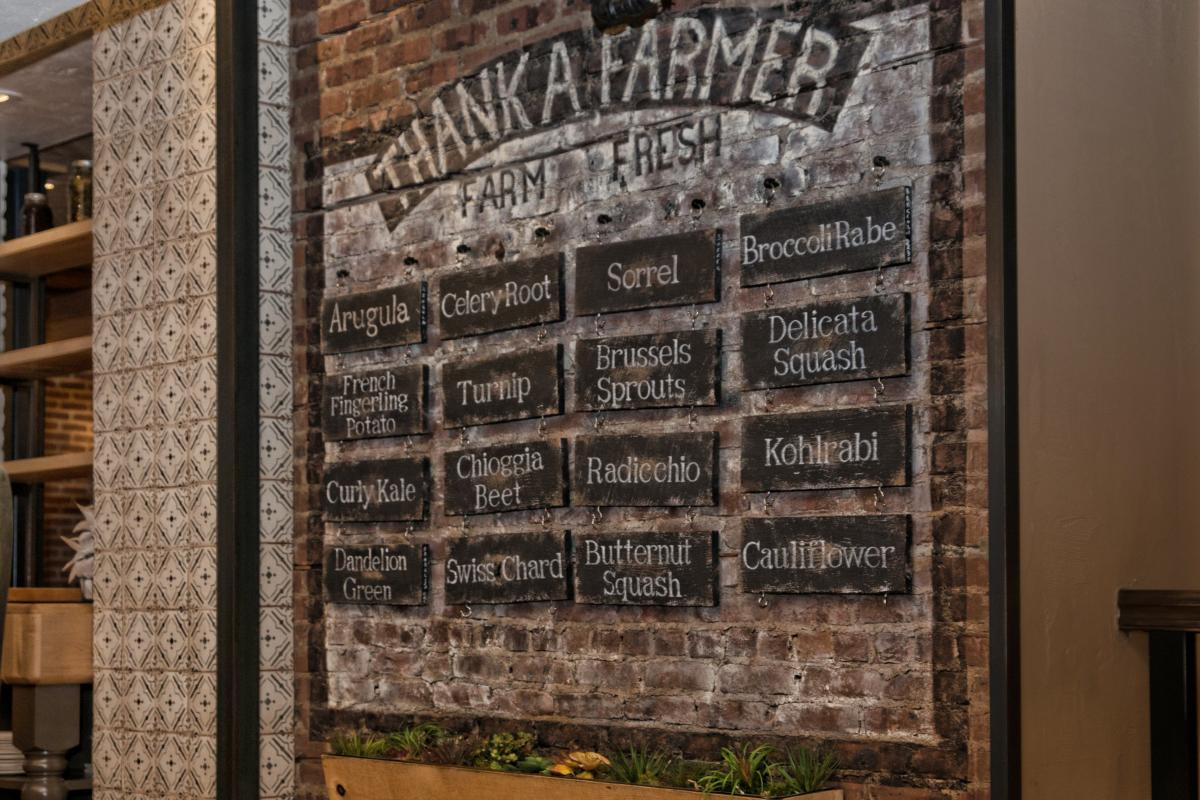 List of Farm-to-Table Produce at Agricola