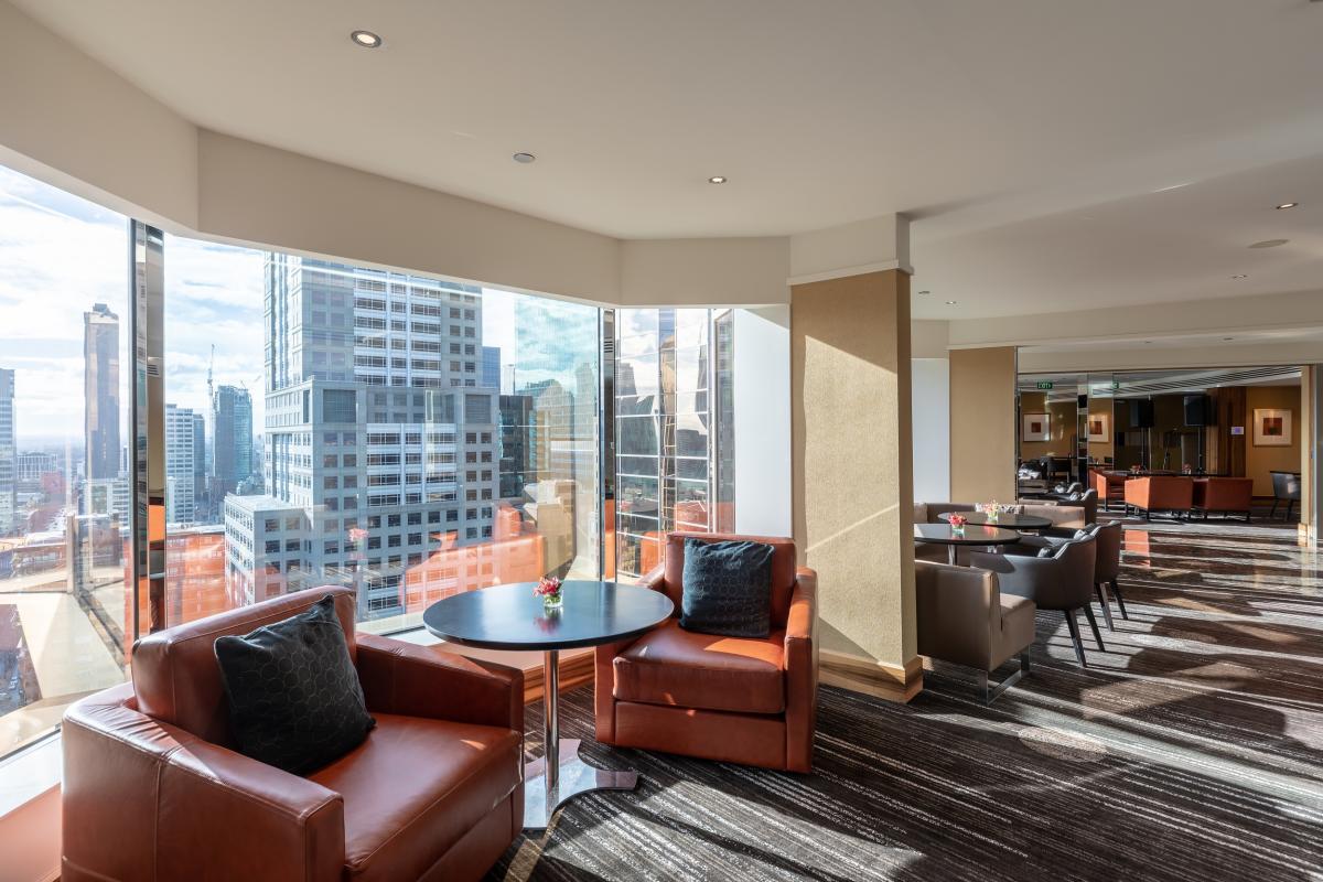 Grand Hyatt Melbourne Grand Club Lounge