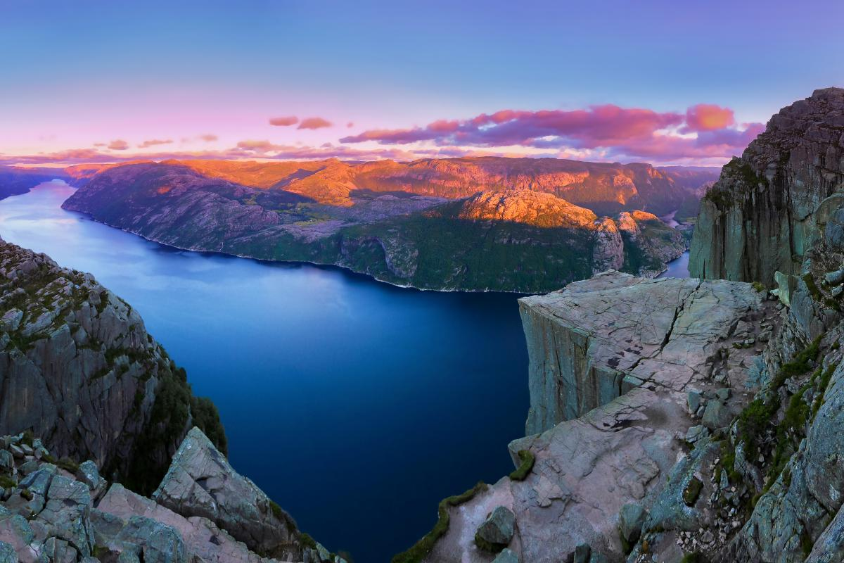 Preikestolen Sunset