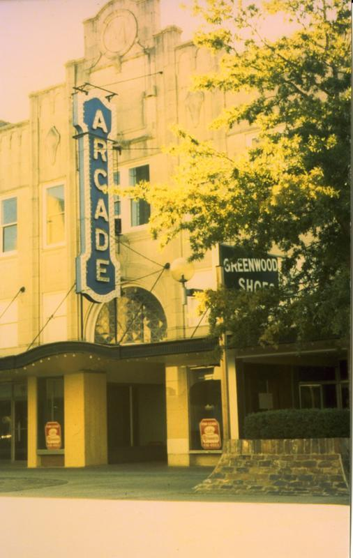 Arcade Theatre Sign