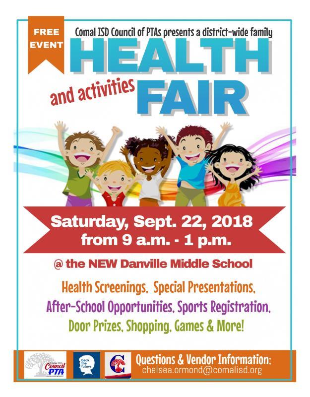 health and activities fair