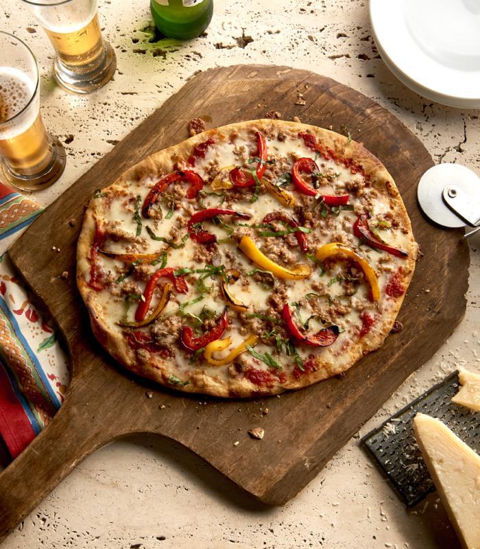 Grotto Sausage Pizza