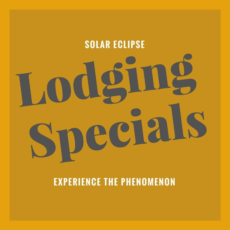 Solar Eclipse Lodging Specials