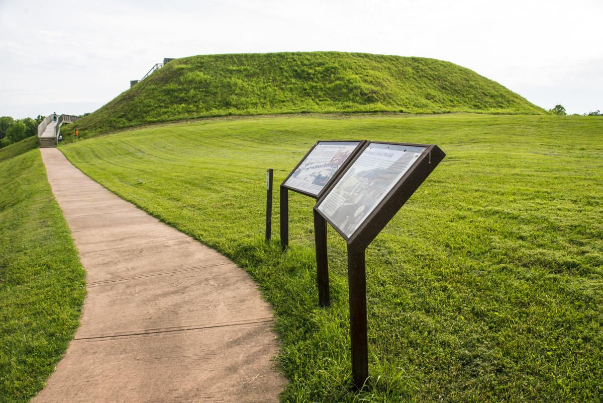 Ocmulgee Great Temple Mound