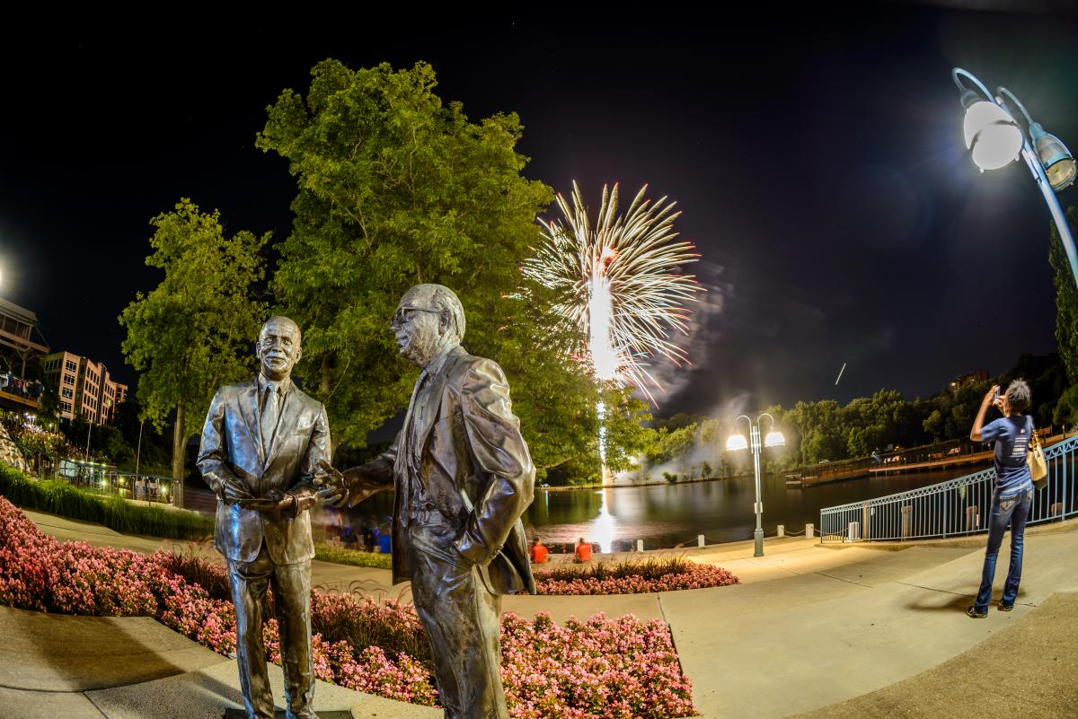 Fireworks Columbia