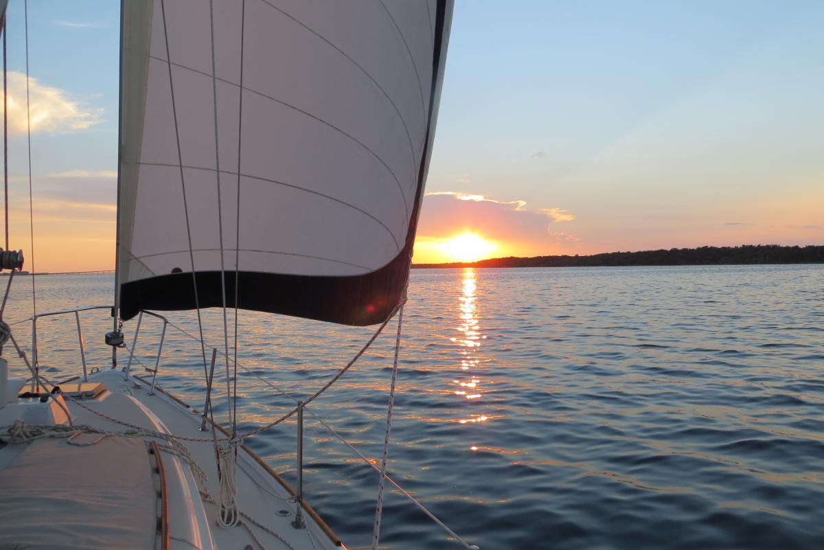 Jolly Sailing sunset sail