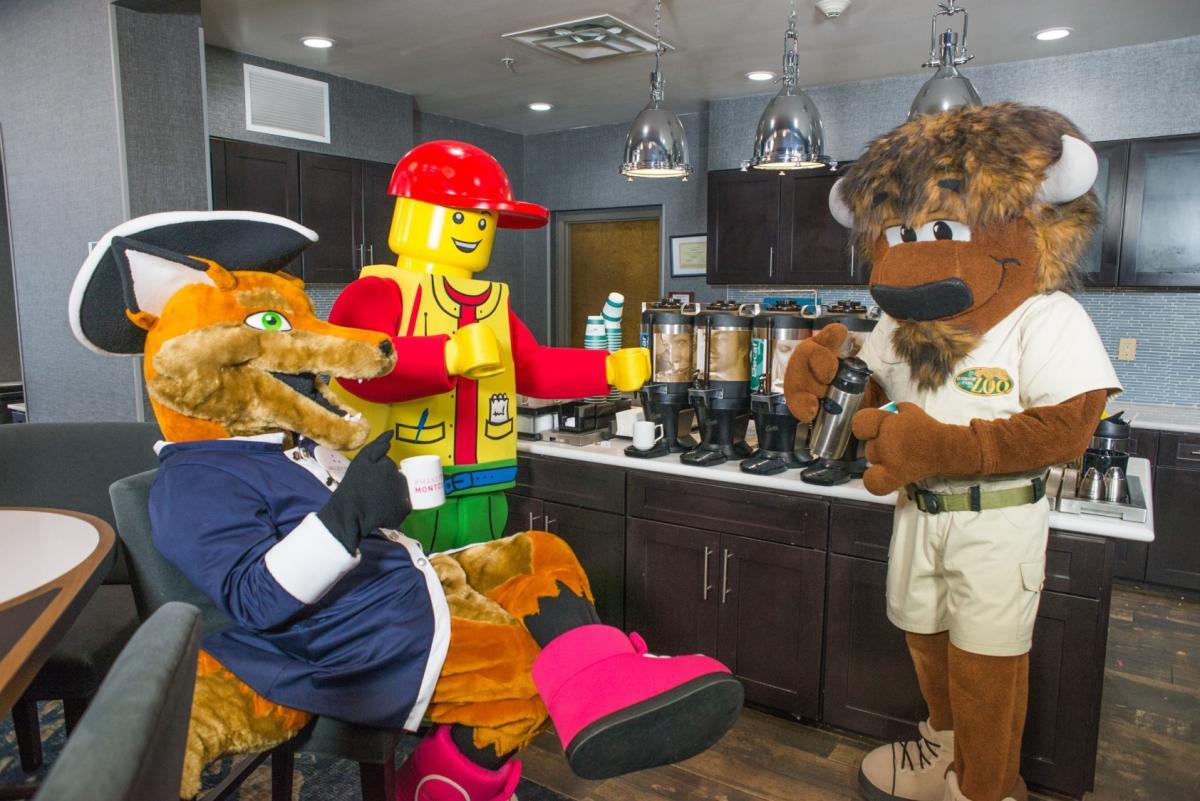 Mascots Breakfast