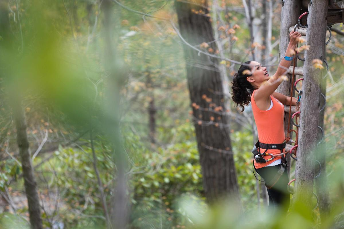 Test Your Aerial Skill on a Exhilarating Pocono Mountains Obstacle Course