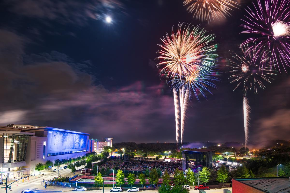 The 'Works: July 4th on Fayetteville Street