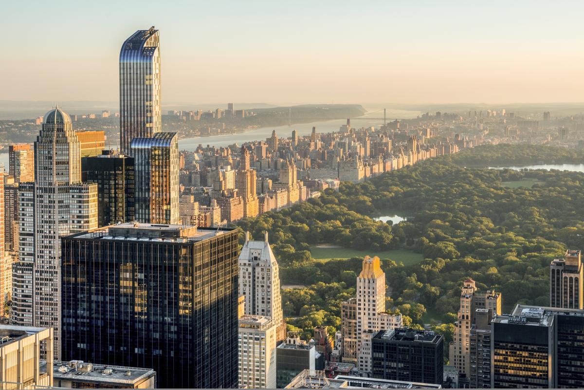 Top of the Rock at Rockefeller Center. Photo by Julienne Schaer.