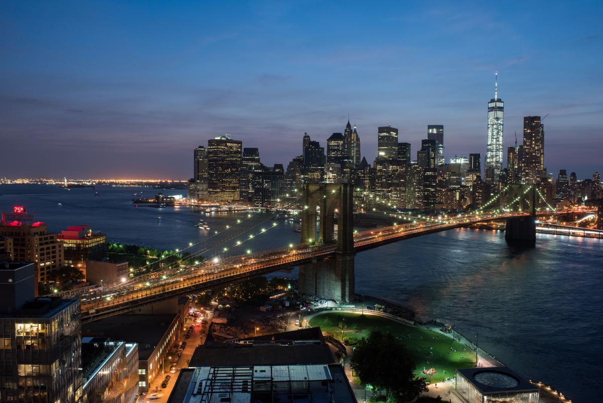 Brooklyn Bridge Park. Photo by Julienne Schaer.