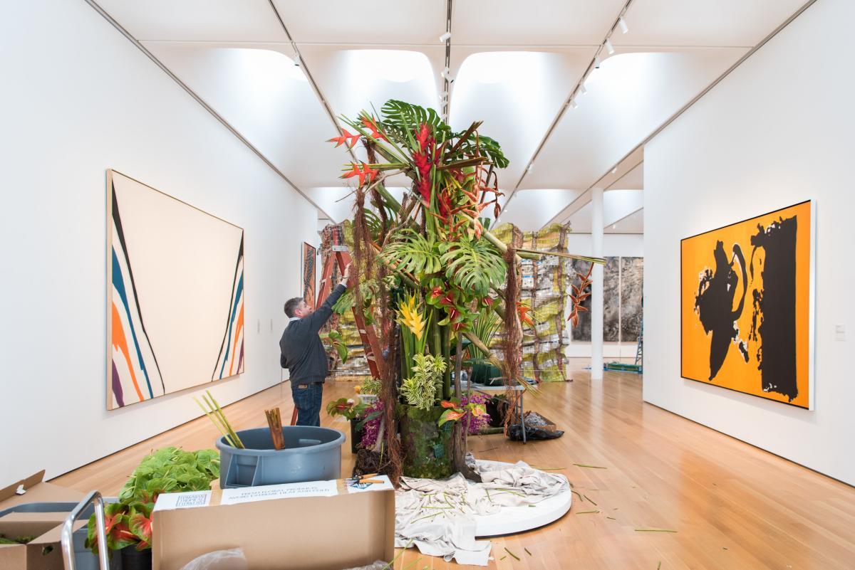NCMA Art in Bloom