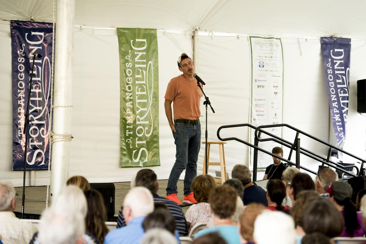Bill Lep at Storytelling Festival 2017