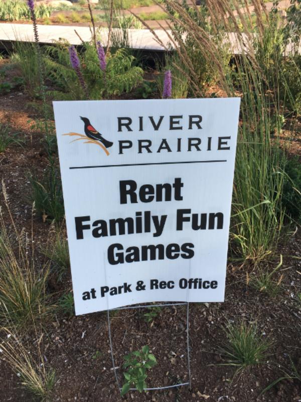 River Prairie Family Fun Games