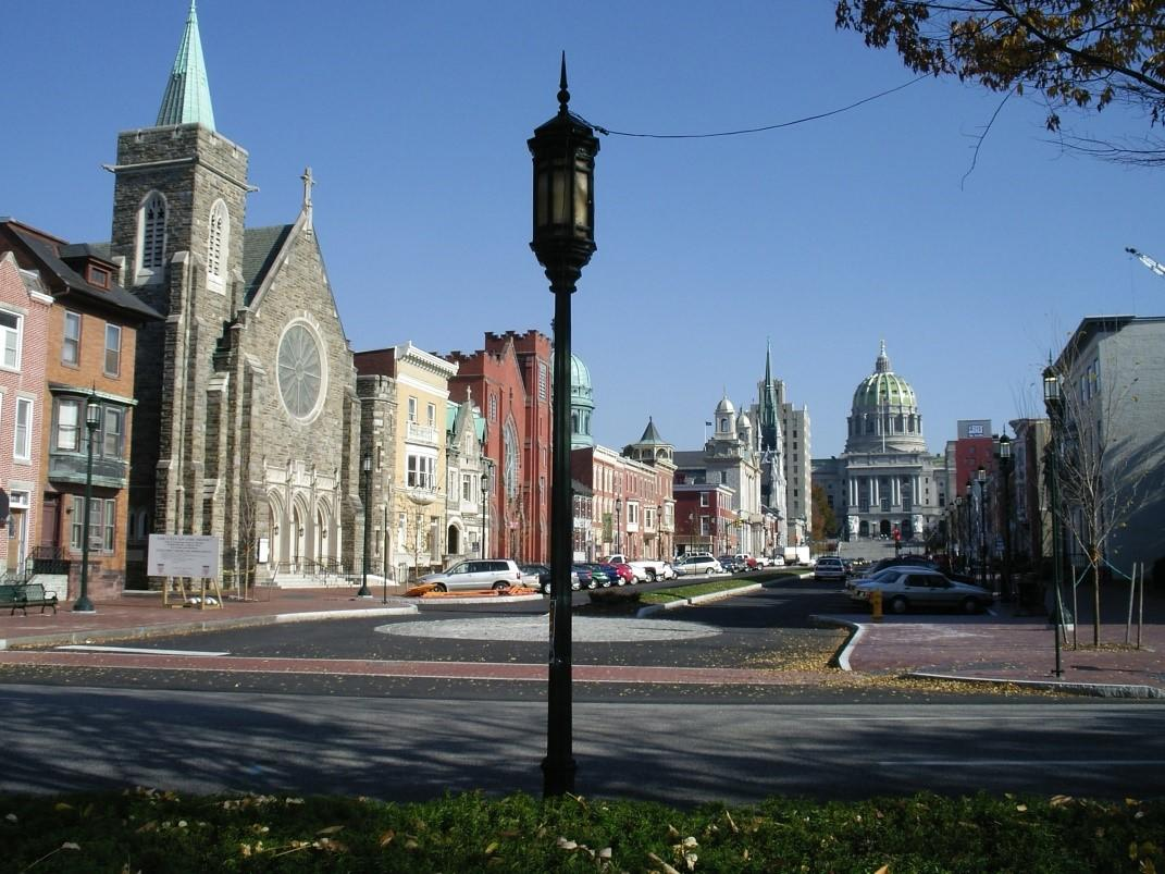Downtown Harrisburg Photo Commonwealth Avenue