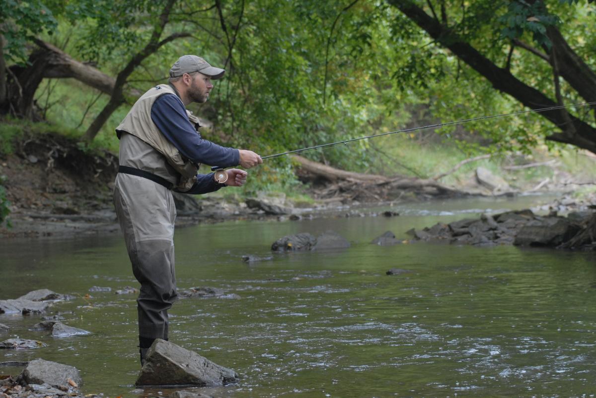 Valley Creek Fishing