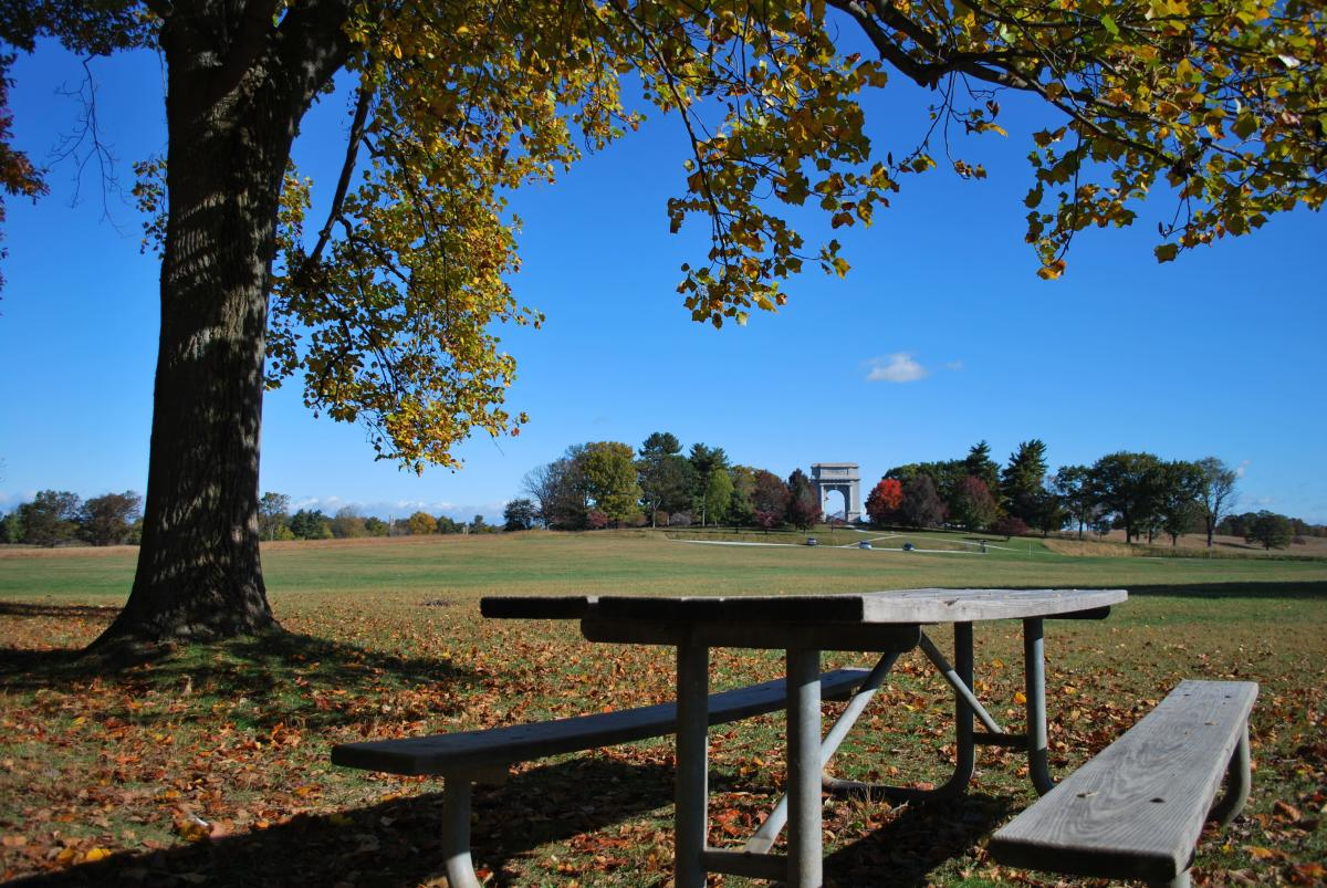 Valley Forge Park Picnic Table
