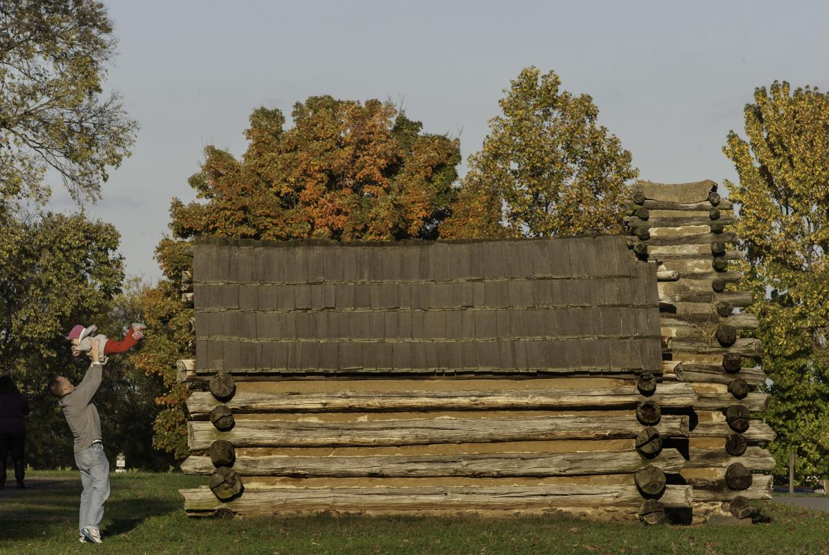 Muhlenberg Brigade Huts