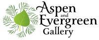 Aspen and evergreen