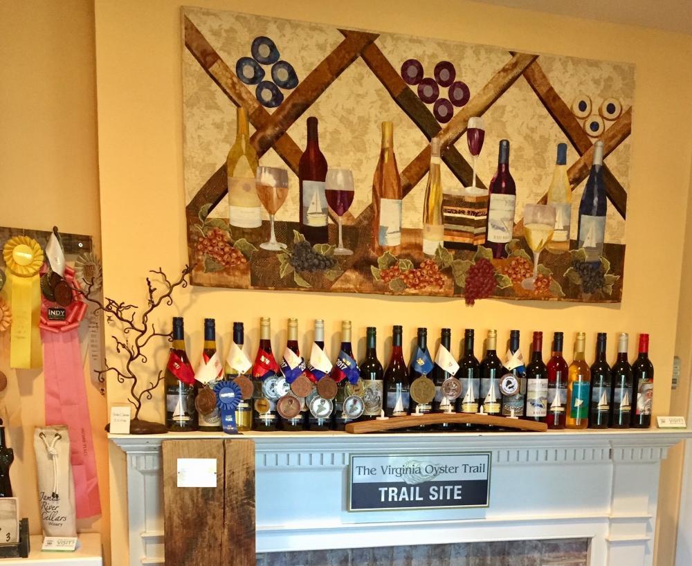 James River Cellars Winery tasting room