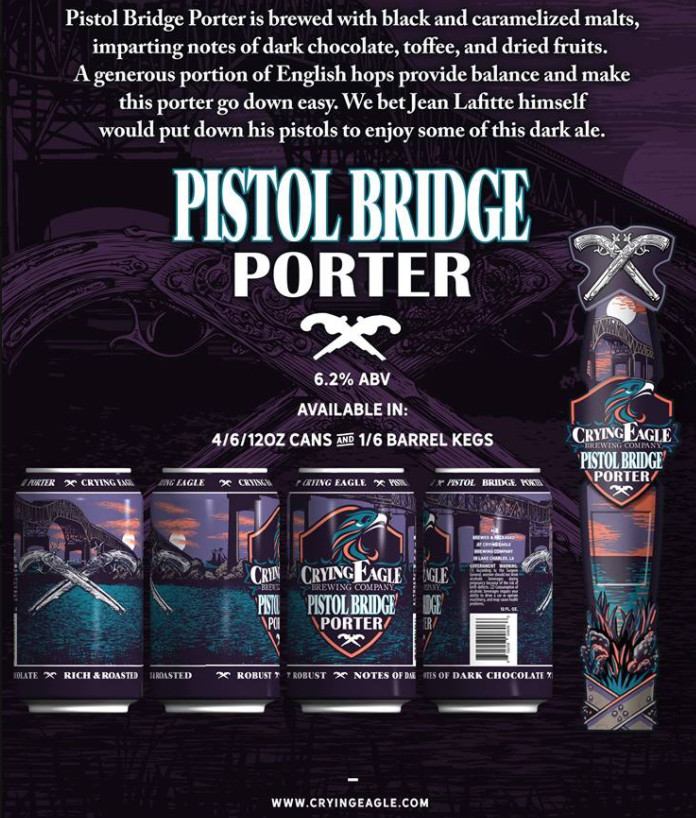 Crying Eagle Pistol Bridge Porter