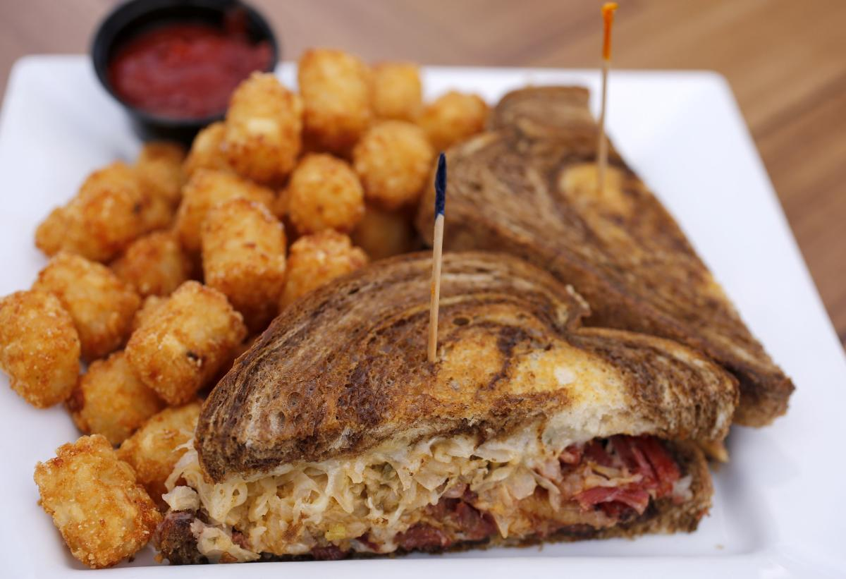 Grilled Reuben at Wildwood Sports Bar & Grill in Rochester, MN