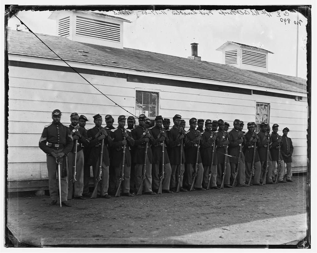 4th USCT at Camp Lincoln